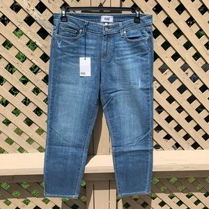 NWT Paige cropped jeans